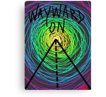 wayward son gypsy rainbow spiral art time travel tee  Canvas Print
