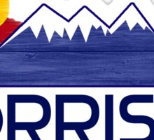 Morrison Colorado wood mountains Sticker