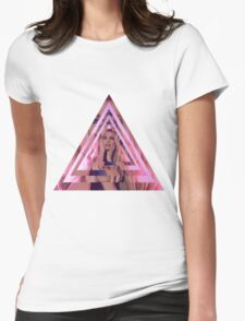 Courtney Act Kaleidescope Womens Fitted T-Shirt