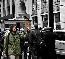 OWS Day of Action- 7 by ClaudineAvalos