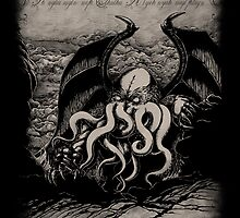 Cthulhu Rise! Great One by pigboom