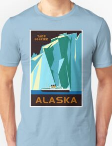 Alaska Taku Glacier retro vintage cruise travel T-Shirt