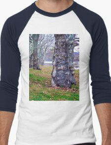 Trees Planted by the River Men's Baseball ¾ T-Shirt