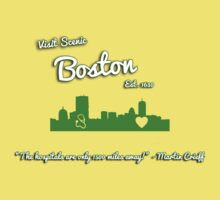 Boston Tourism by initiala