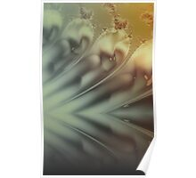 calm abstract reflection Poster