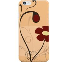 Retro floral pattern iPhone Case/Skin