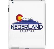 Nederland Colorado wood mountains iPad Case/Skin