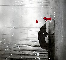 """ipad Little Red Riding Hood """"be my valentine"""" by minoule"""