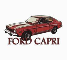 T-shirt FORD CAPRI One Piece - Long Sleeve