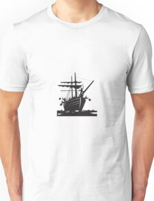 Boston Tea Party Raiders Retro  Unisex T-Shirt