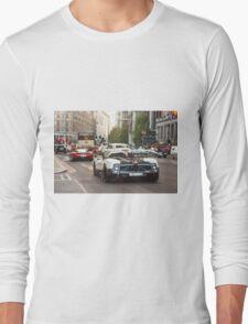 Pagani Zonda Cinque & Ferrari Enzo Long Sleeve T-Shirt