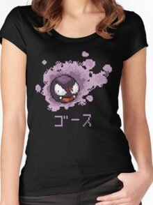 Gastly / Fantominus Pokemon Women's Fitted Scoop T-Shirt