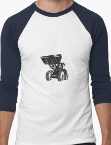 Front End Loader Digger Excavator Retro  T-Shirt