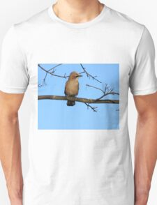 Female Jay Sitting On Branch T-Shirt