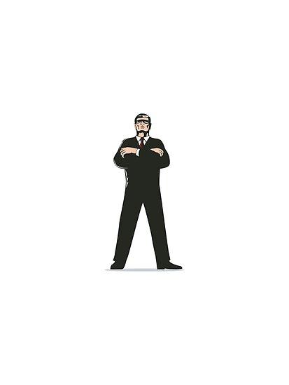 Secret Service Agent Body Guard  by patrimonio