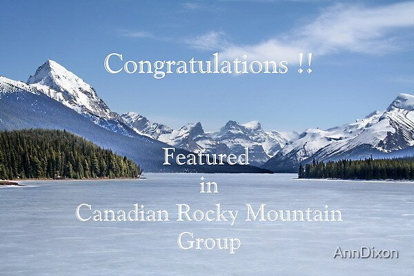 Banner : Canadian Rocky Mountain Group by AnnDixon