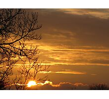 Gilded Skies Photographic Print
