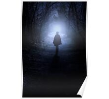 towards the light Poster