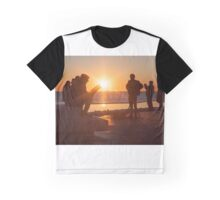 Sunset on a book Graphic T-Shirt