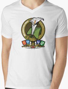 The Easter Lily Badge Mens V-Neck T-Shirt