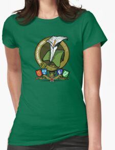 The Easter Lily Badge Womens Fitted T-Shirt