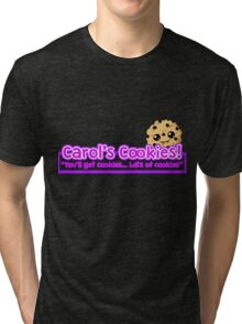 Carol's Cookies - The Walking Dead Tri-blend T-Shirt