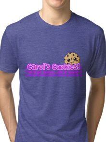 Carol's Cookies - The Walking Dead Tri-blend T-Shirt