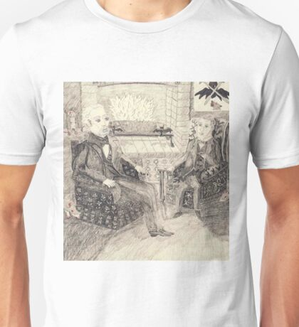 The Chat Before The Fire Unisex T-Shirt