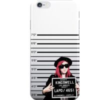 Mia Mugshot iPhone Case/Skin