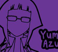 Yumi Azusa large silhouette print by sweetsheart