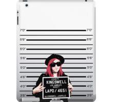 Mia Mugshot iPad Case/Skin