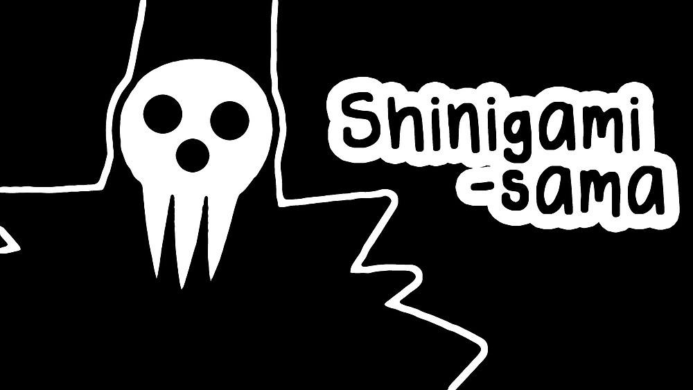 Shinigami-sama large silhouette print by sweetsheart
