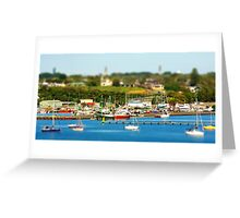 Portland Harbour Greeting Card