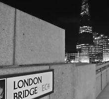 The Shard from London Bridge  by Debra Kurs