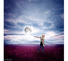 I will bring you the moon Photographic Print