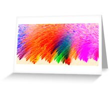 abstract art 6 Greeting Card