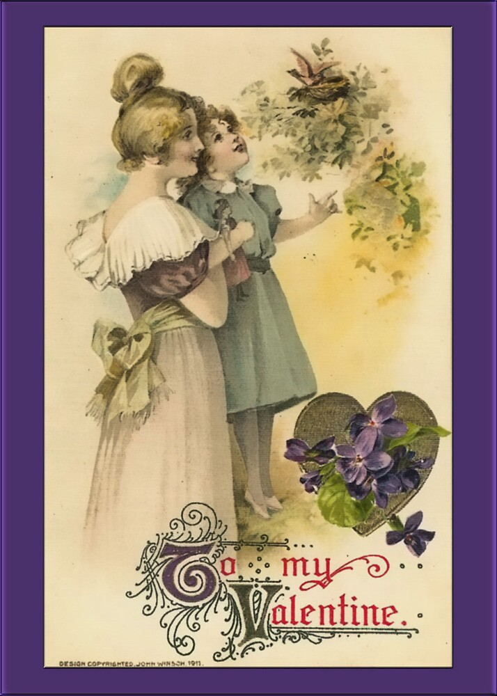 Valentine-Mother and Daughter by Yesteryears