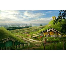Hobbiton Shire Photographic Print