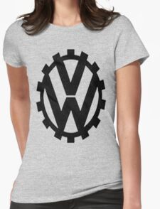 WW2 VW Logo Womens Fitted T-Shirt