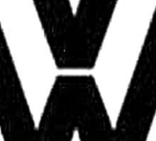WW2 VW Logo Sticker