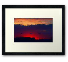 Before the dawn Framed Print