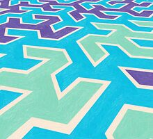 abstract pattern by Adam Asar