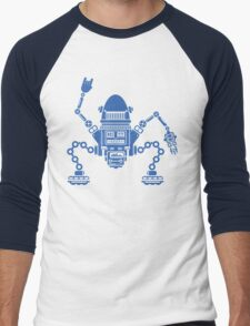 Robotix Experiment Men's Baseball ¾ T-Shirt