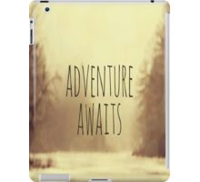 Adventure Awaits II iPad Case/Skin