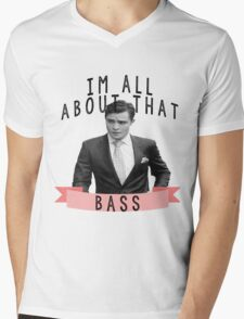 I'm All about that Bass - Gossip Girl Mens V-Neck T-Shirt