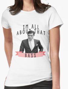 I'm All about that Bass - Gossip Girl Womens Fitted T-Shirt