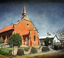 Presbyterian Church at Junee by Darren Stones