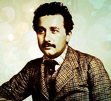 Albert Einstein 1904 in Bern by Adam Asar