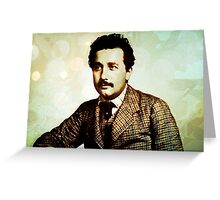 Albert Einstein 1904 in Bern Greeting Card