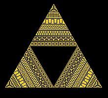 Aztec triforce by NemiMakeit